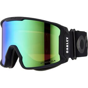 Oakley Line Miner Gafas de Nieve Hombre, matte black/w prizm jade iridium